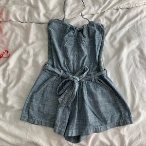 Gilly Hicks Chambray Romper